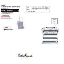 Camiseta mg corta little marcel - Little Marcel - NFV-LMSE0053WHITE