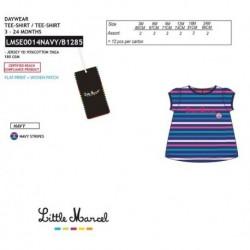Camiseta mg corta little marcel - Little Marcel - NFV-LMSE0014NAVY