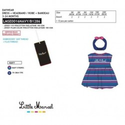 Conjunto little marcel - Little Marcel - NFV-LMSE0016NAVY