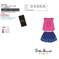 Conjunto little marcel - Little Marcel - NFV-LMSE0013PINK