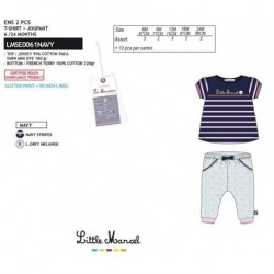 NFV-LMSE0061NAVY Comprar ropa al por mayor Conjunto little