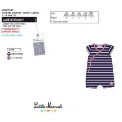 NFV-LMSE0055NAVY Comprar ropa al por mayor Mono little mar -