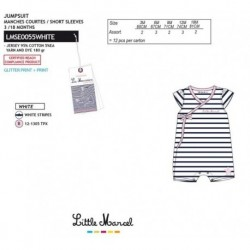 NFV-LMSE0055WHITE Comprar ropa al por mayor Mono little mar -