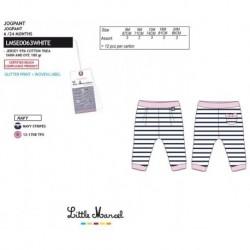 NFV-LMSE0063WHITE proveedor ropa de bebe Pantalones little