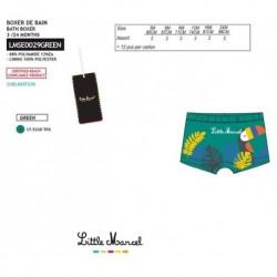 Boxer baño little marcel - Little Marcel - NFV-LMSE0029GREEN