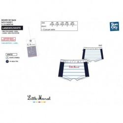 Boxer baño little marcel - Little Marcel - NFV-LMSE0052WHITE
