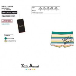 Boxer baño little marcel - Little Marcel - NFV-LMSE0005GREEN