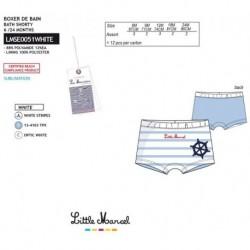 Boxer baño little marcel - Little Marcel - NFV-LMSE0051WHITE