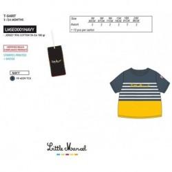 NFV-LMSE0001NAVY Comprar ropa al por mayor Camiseta mg corta
