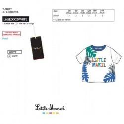 TMBB-LMSE0002WHITE Comprar ropa al por mayor Camiseta mg corta