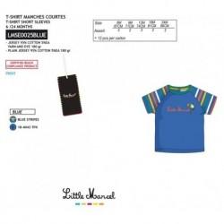 Camiseta mg corta little marcel - Little Marcel - NFV-LMSE0025BLUE