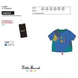 Camiseta mg corta little marcel - Little Marcel - NFV-LMSE0002BLUE