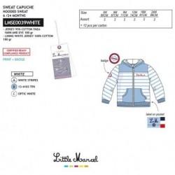 Chaqueta chandal little marcel - Little Marcel - NFV-LMSE0039WHITE