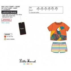 NFV-LMSE0007ORANGE Comprar ropa al por mayor Conjunto little