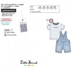 NFV-LMSE0040WHITE Comprar ropa al por mayor Conjunto little