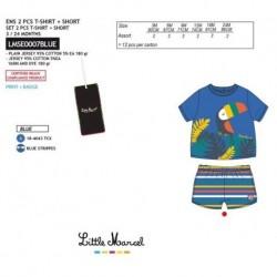 NFV-LMSE0007BLUE Comprar ropa al por mayor Conjunto little