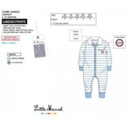 NFV-LMSE0037WHITE Comprar ropa al por mayor Conjunto little