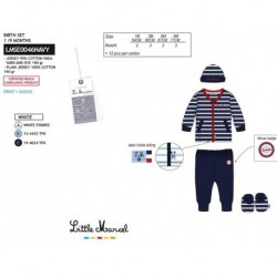 NFV-LMSE0046NAVY Comprar ropa al por mayor Conjunto little