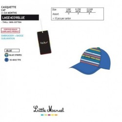 Gorra little marcel - Little Marcel - NFV-LMSE4039BLUE