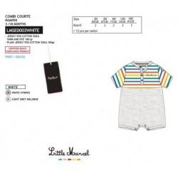 NFV-LMSE0003WHITE Comprar ropa al por mayor Mono little mar -