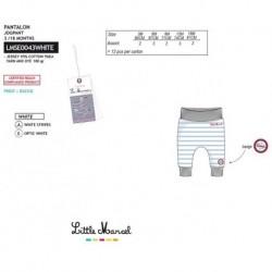 Pantalones little marcel - Little Marcel - NFV-LMSE0043WHITE