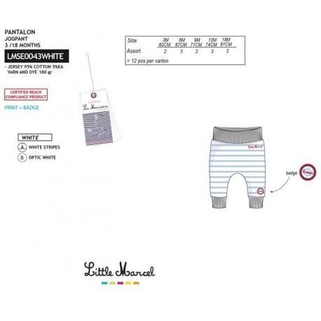 NFV-LMSE0043WHITE Comprar ropa al por mayor Pantalones little