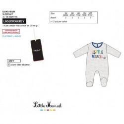 Pelele little marcel - Little Marcel - NFV-LMSE0006GREY