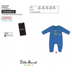 Pelele little marcel - Little Marcel - NFV-LMSE0006BLUE