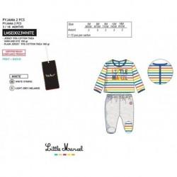 Pijama largo little marcel - Little Marcel - NFV-LMSE0023WHITE