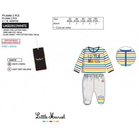 NFV-LMSE0023WHITE Comprar ropa al por mayor Pijama largo