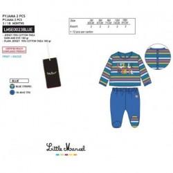 Pijama largo little marcel - Little Marcel - NFV-LMSE0023BLUE