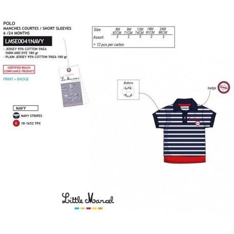 NFV-LMSE0041NAVY Comprar ropa al por mayor Polo mg corta
