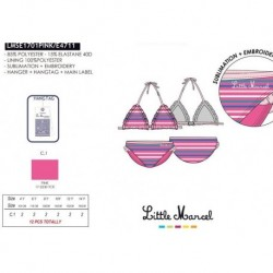 Bikini little marcel - Little Marcel - NFV-LMSE1701PINK