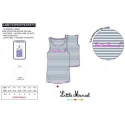 Camiseta tirantes little marcel - Little Marcel - NFV-LMSE1029WHITE