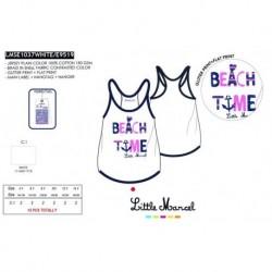 Camiseta tirantes little marcel - Little Marcel - NFV-LMSE1037WHITE