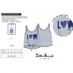 Camiseta tirantes little marcel - Little Marcel - NFV-LMSE1032WHITE