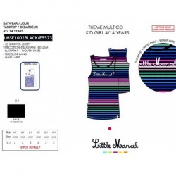 Camiseta tirantes little marcel - Little Marcel - NFV-LMSE1002BLACK