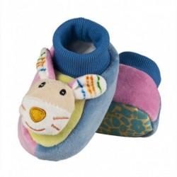 Zapatillas bebé tundosadas con animales