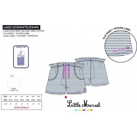 Pantalones cortos little marcel - Little Marcel - NFV-LMSE1035WHITE