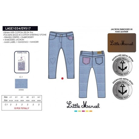 NFV-LMSE1034 mayoristas ropa infantil en españa Pantalones