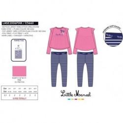 Pijama largo little marcel - Little Marcel - NFV-LMSE2006PINK
