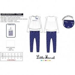 Pijama largo little marcel - Little Marcel - NFV-LMSE2006WHITE