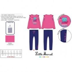Pijama largo little marcel - Little Marcel - NFV-LMSE2015FUSHIA
