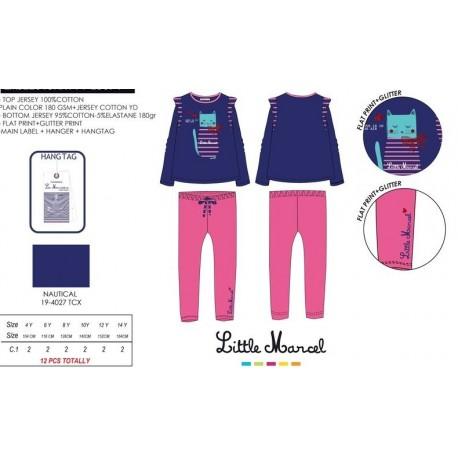 NFV-LMSE2015NAVY fabricantes de ropa infantil en españa Pijama