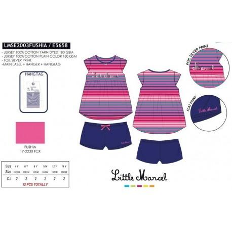 Pijama little marcel - Little Marcel - NFV-LMSE2003FUSHIA
