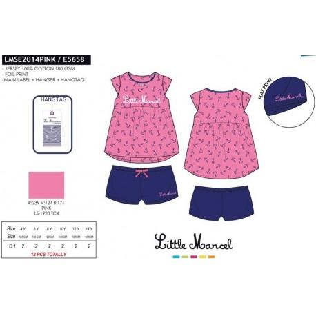 Pijama little marcel - Little Marcel - NFV-LMSE2014PINK