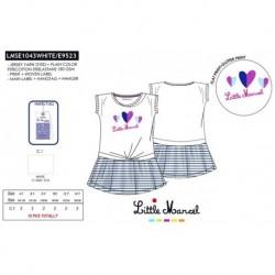 NFV-LMSE1043WHITE venta al por mayor de ropa infantil Vestido