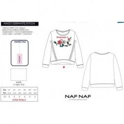 NFV-NNSE1008WHITE mayoristas de moda infantil Camiseta manga