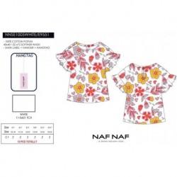 Camiseta mg corta naf naf - Naf Naf - NFV-NNSE1005WHITE