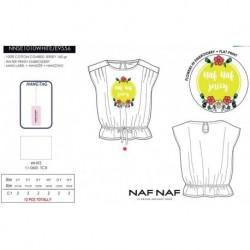 Camiseta mg corta naf naf - Naf Naf - NFV-NNSE1010WHITE